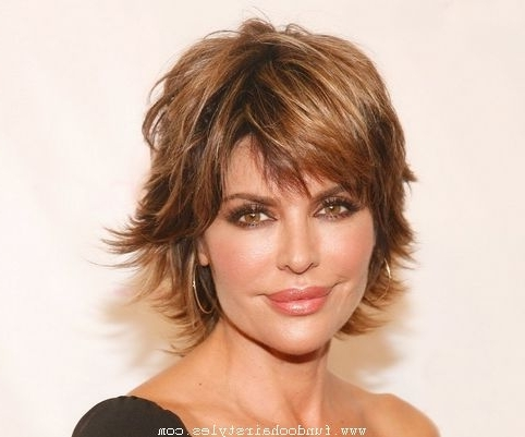 Pretty Hairstyles For Short Shaggy Hairstyles For Fine Hair Short For Most Recent Shag Hairstyles For Thin Hair (View 13 of 15)
