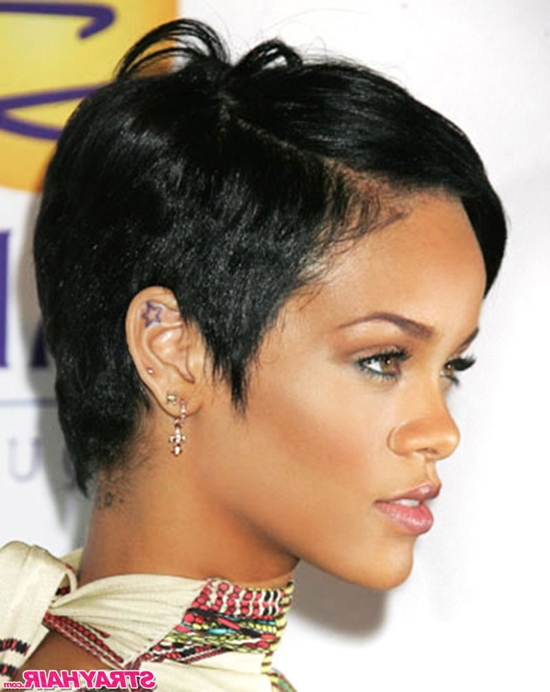 2018 Best Of Rihanna Pixie Hairstyles