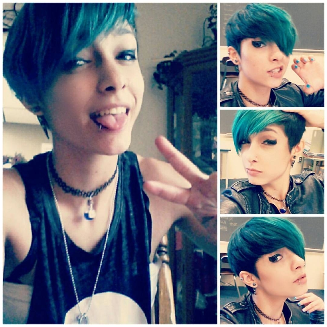 Scene Pixie Cut Tumblr – Google Search<<<< I Love This So Much Regarding Newest Emo Pixie Hairstyles (View 9 of 15)
