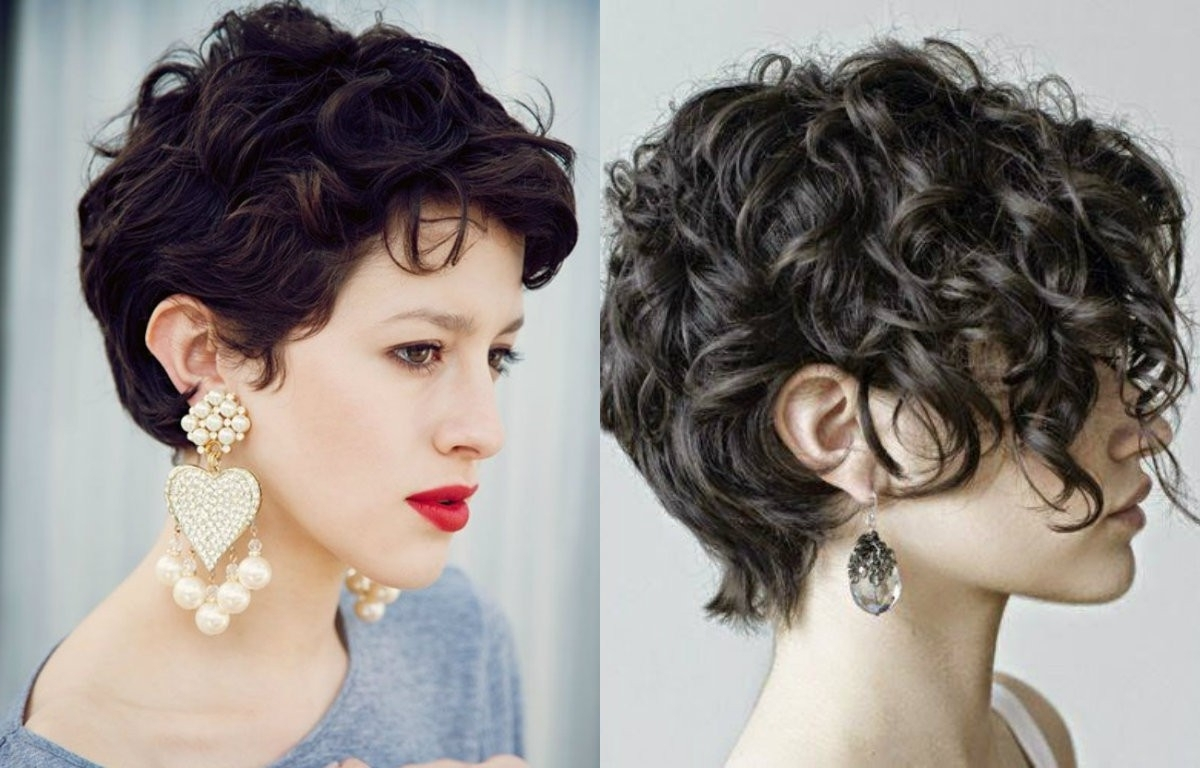 15 Best Collection Of Short Curly Pixie Hairstyles