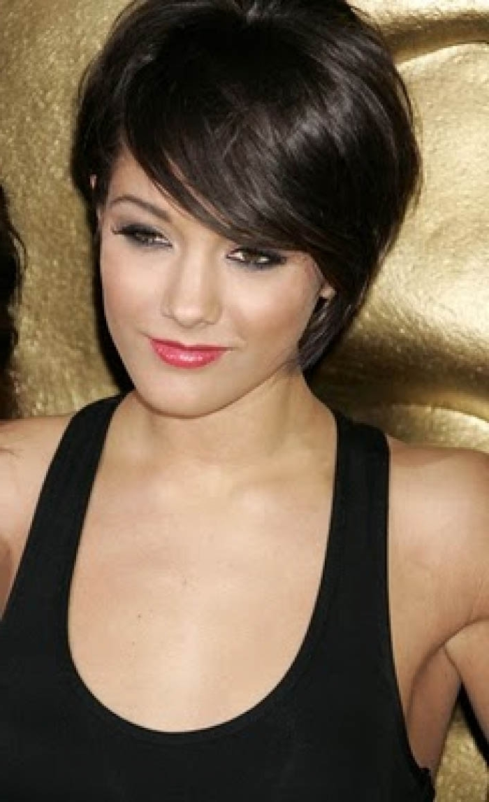 Featured Photo of Pixie Hairstyles For Dark Hair