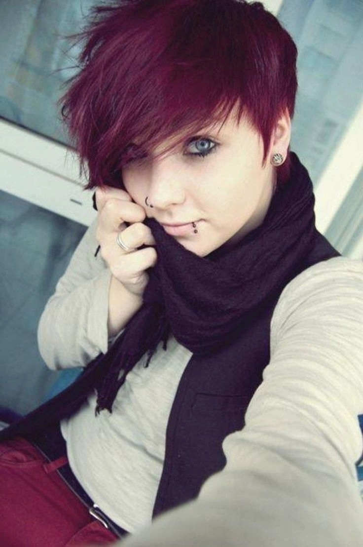 View Gallery Of Emo Pixie Hairstyles Showing 5 Of 15 Photos