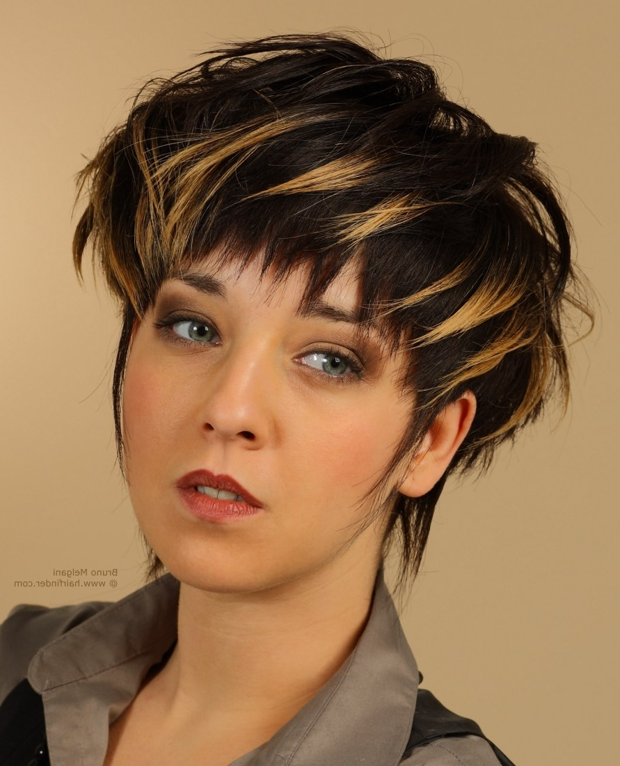 Short Hair Colors : 20 New Short Dark Haircuts Download Background Within Most Current Pixie Hairstyles For Dark Hair (View 14 of 15)