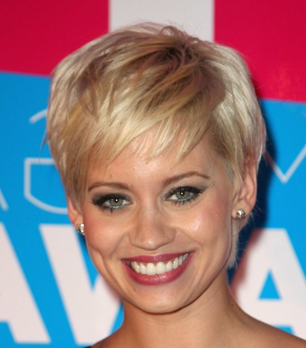 Short Haircut For Round Face Pixie Hairstyle For Round Face2 Pertaining To Most Recently Pixie Hairstyles For Chubby Faces (View 13 of 15)