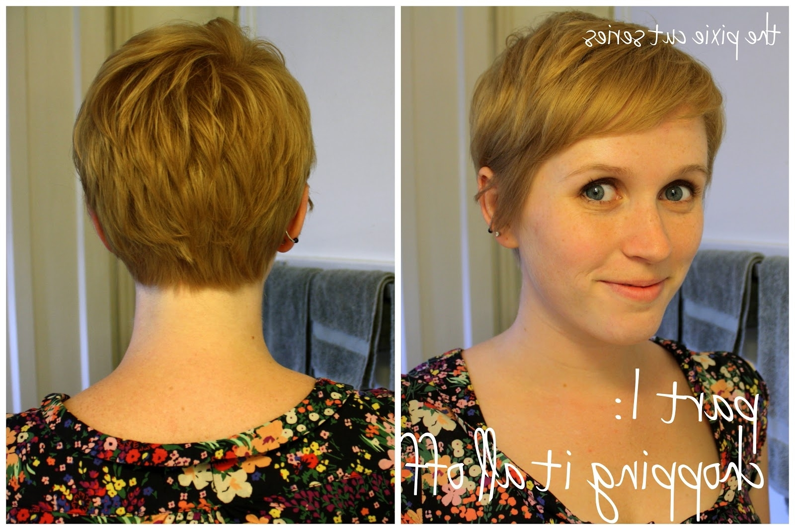 View Gallery Of Pixie Hairstyles Front And Back Showing 2 Of 15 Photos