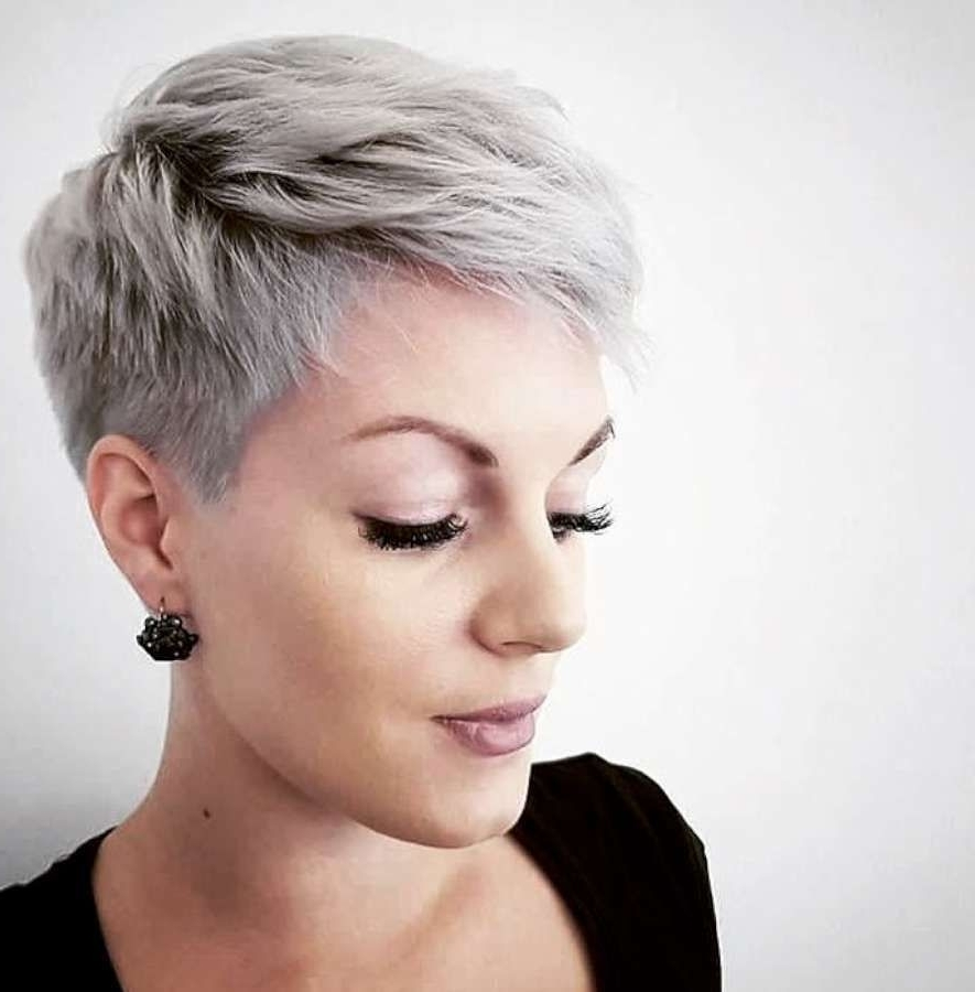 Short Hairstyle 2018 | Hair Styles | Pinterest | Hairstyles 2018 In Most Up To Date Short Blonde Pixie Hairstyles (View 11 of 15)