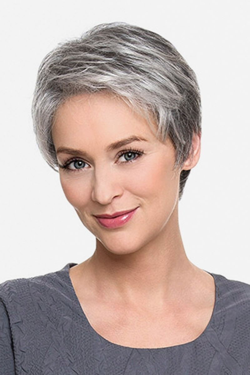 Short Hairstyles : Amazing Short Grey Pixie Hairstyles View To Within Most Popular Grey Pixie Hairstyles (View 5 of 15)