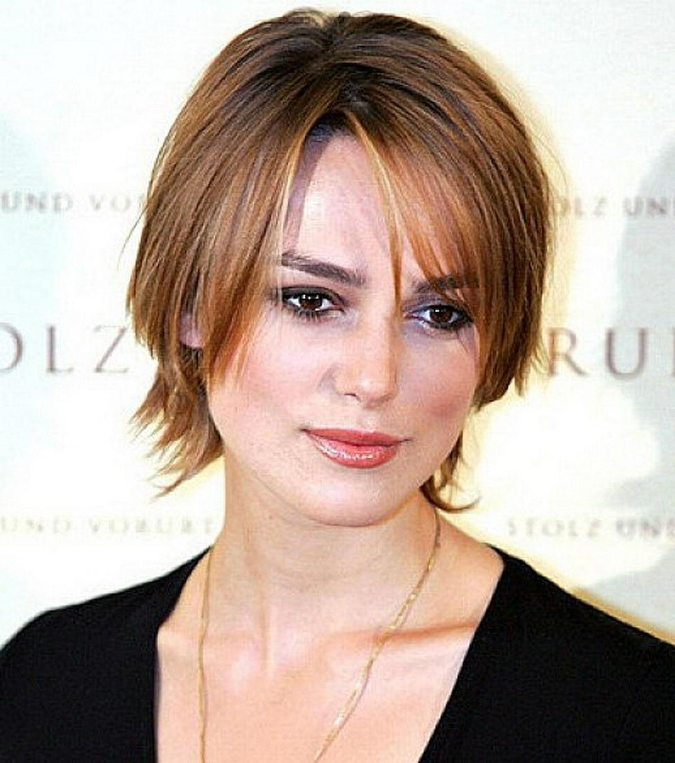Short Hairstyles: Best Short Hairstyles For Thin Hair And Round Inside Most Popular Pixie Hairstyles For Asian Round Face (View 11 of 15)