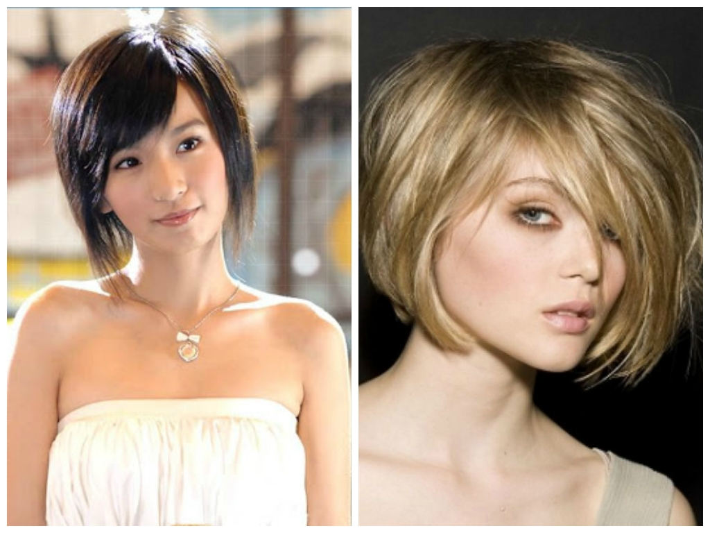 Short Hairstyles For An Oval Face Shape – Women Hairstyles For Latest Pixie Hairstyles For Diamond Shaped Face (View 9 of 15)