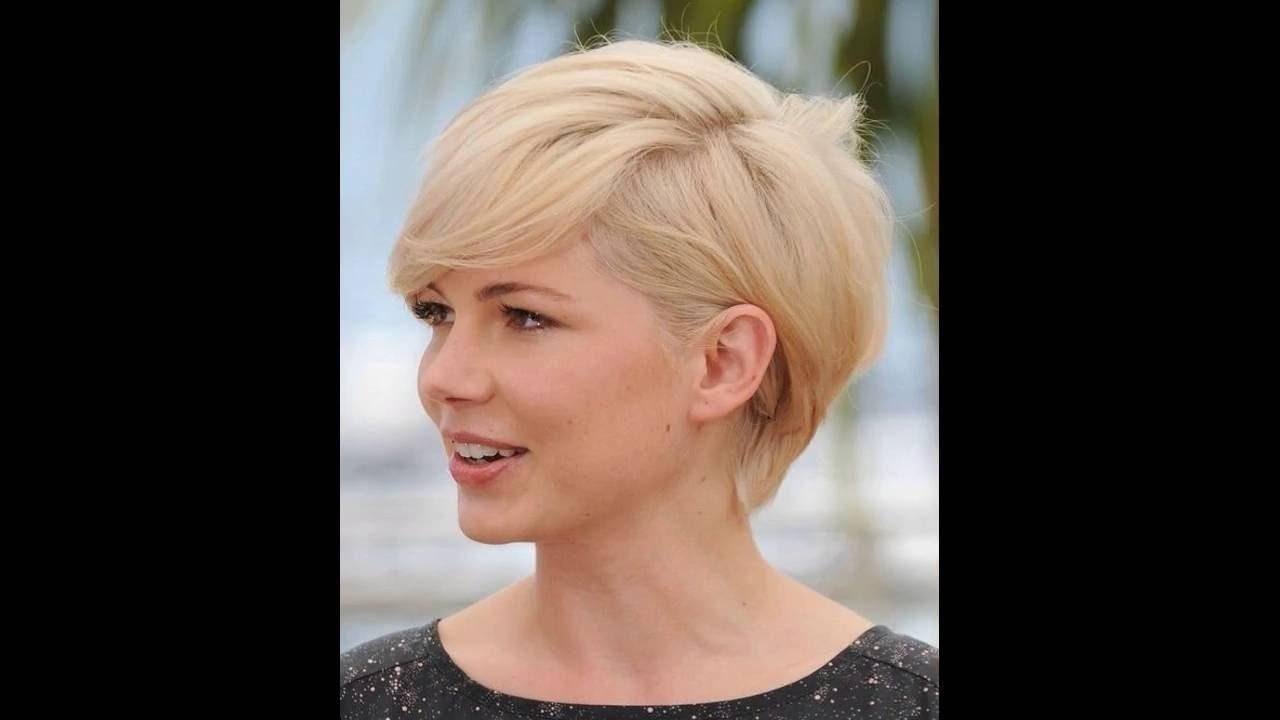 Short Hairstyles For Diamond Shaped Faces – Youtube Pertaining To Best And Newest Pixie Hairstyles For Diamond Shaped Face (View 3 of 15)