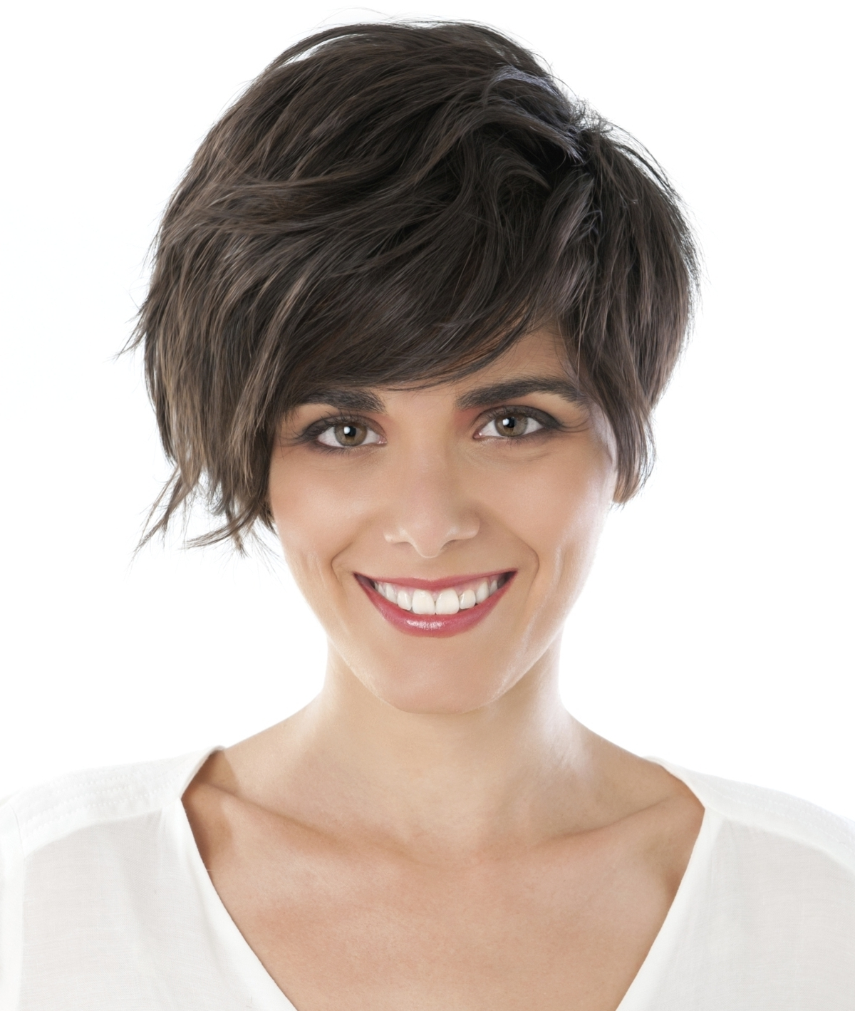 Short Hairstyles For Heart Shaped Faces That Don't Skimp On Style Intended For Most Recent Pixie Hairstyles For Heart Shaped Face (View 13 of 15)
