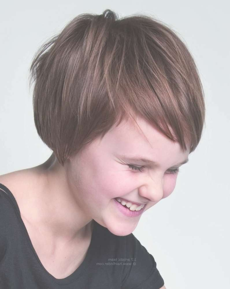 Short Hairstyles For Kids With Thick Hair – Hairstyle For Women & Man Within Newest Pixie Hairstyles For Little Girl (View 4 of 15)