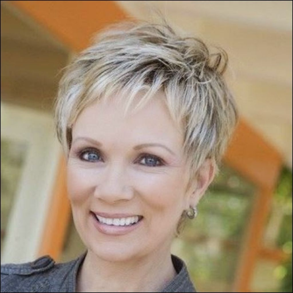 Short Hairstyles For Women Over 60 With Fine Thin Hair Http Inside Newest Pixie Hairstyles For Women Over (View 2 of 15)