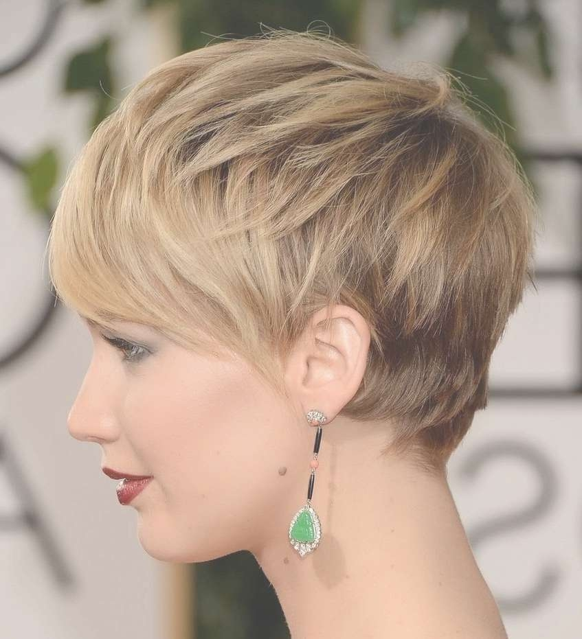 Image Gallery Of Pixie Hairstyles For Oval Face Shape View 16 Of 16