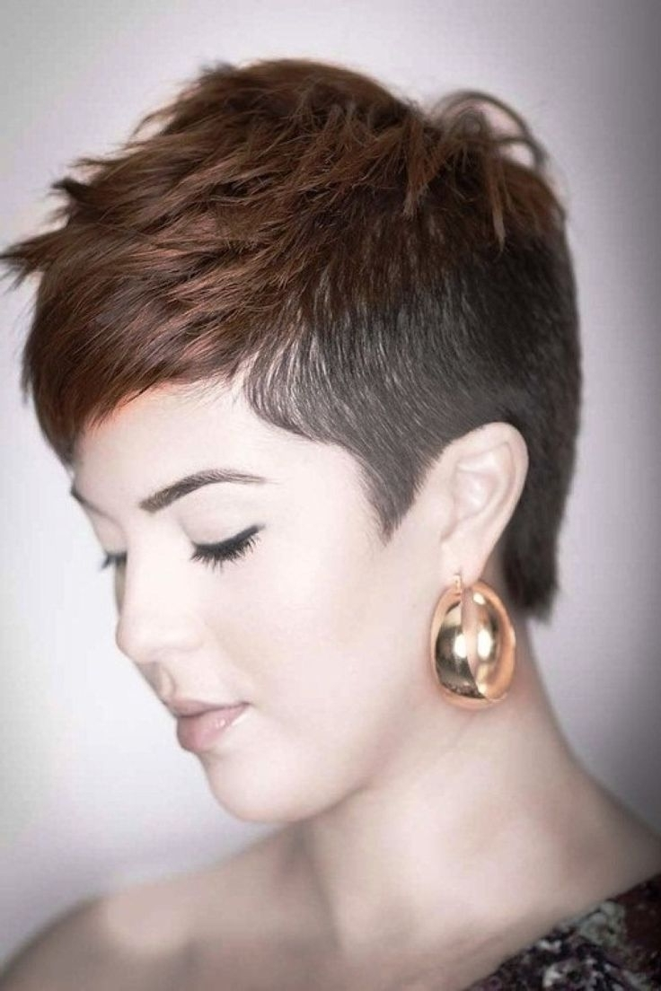 Short Hairstyles Shaved Side   Fade Haircut Pertaining To Most Popular Pixie Hairstyles With Shaved Sides (View 11 of 15)