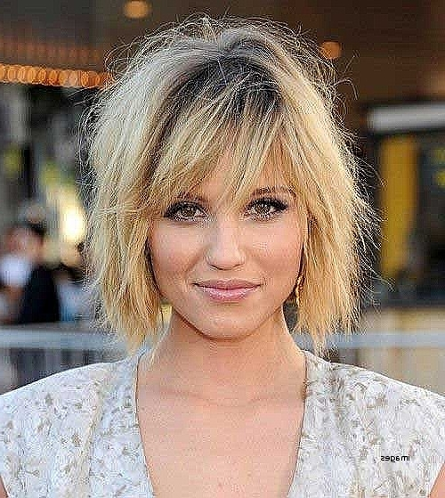 15 Photos Shaggy Short Hairstyles For Round Faces