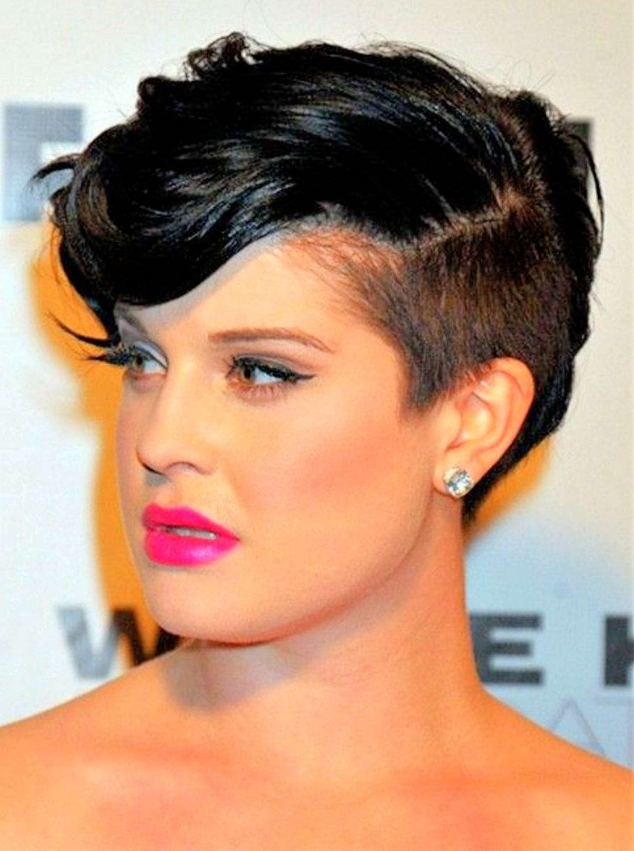 Short Hairstyles Thick Hair Round Face | Fashion Blog With Regard To Most Current Pixie Hairstyles With Curly Hair (View 26 of 33)