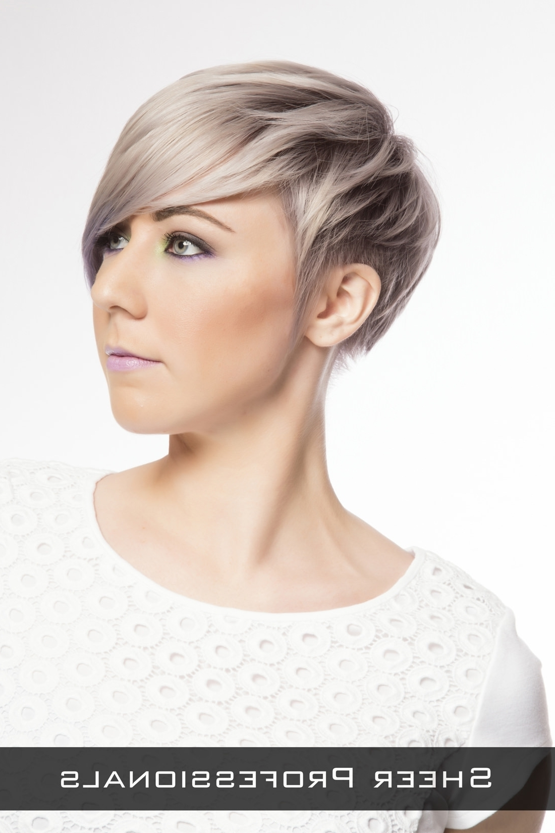 Short Hairstyles With Side Fringe Long Hairstyles With Short Bangs Throughout Recent Pixie Hairstyles With Long Side Swept Bangs (View 5 of 15)