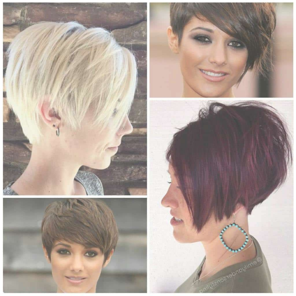 Short Pixie Haircuts 2017 In Current Bob And Pixie Hairstyles (View 13 of 16)