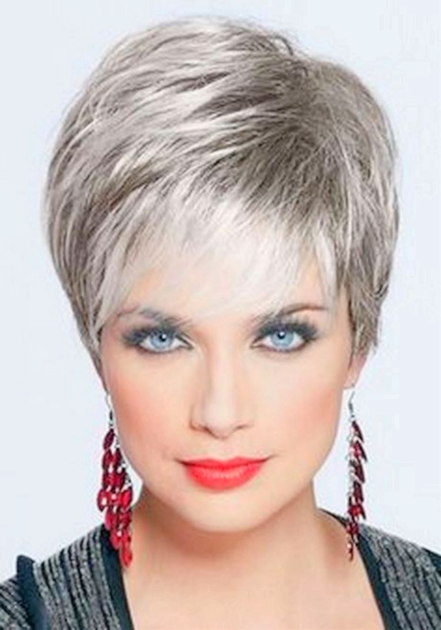 Displaying Gallery of Short Pixie Hairstyles For Older Women (View 9 ...