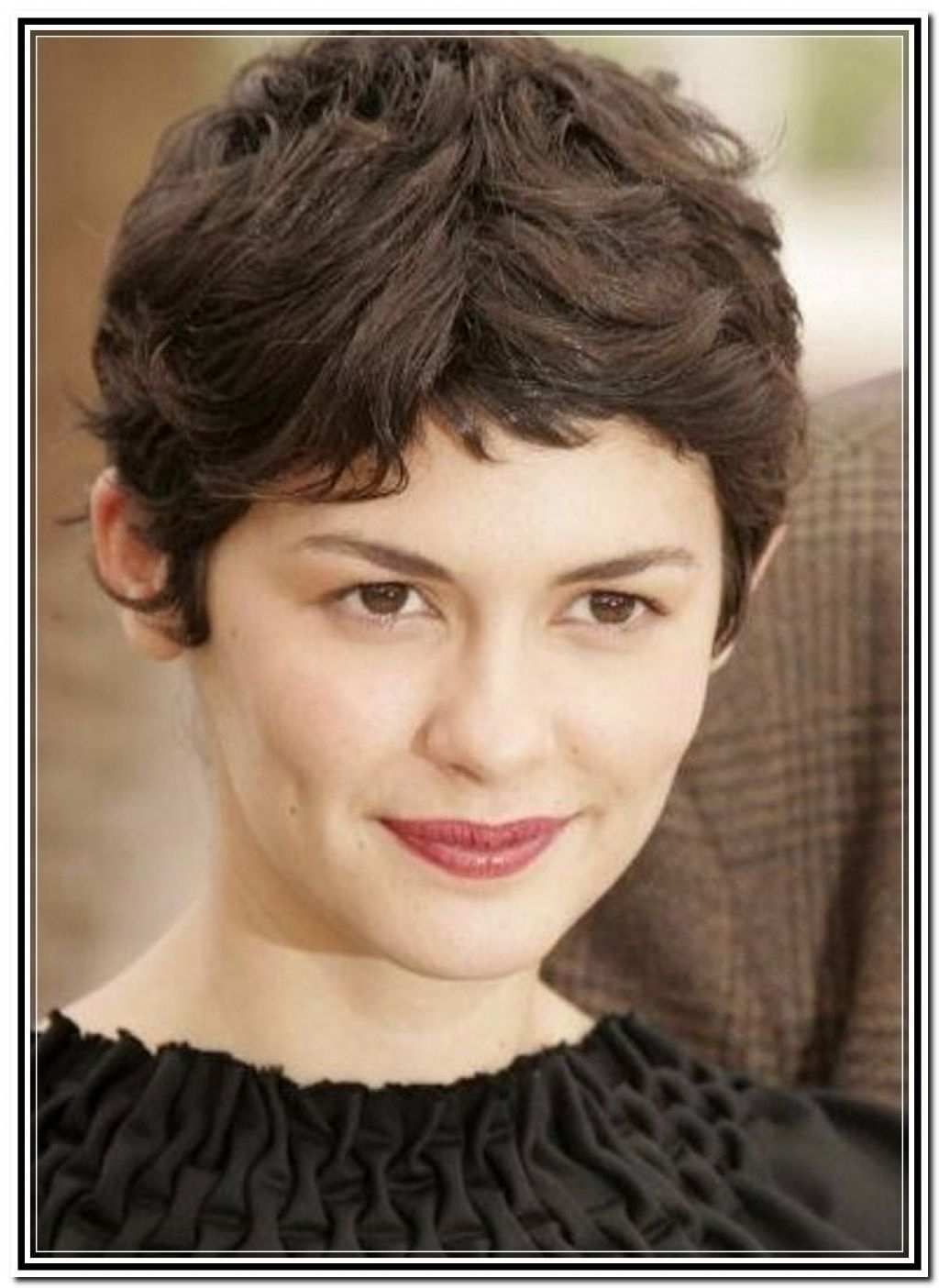 Photo Gallery Of Short Pixie Hairstyles For Thick Wavy Hair Showing