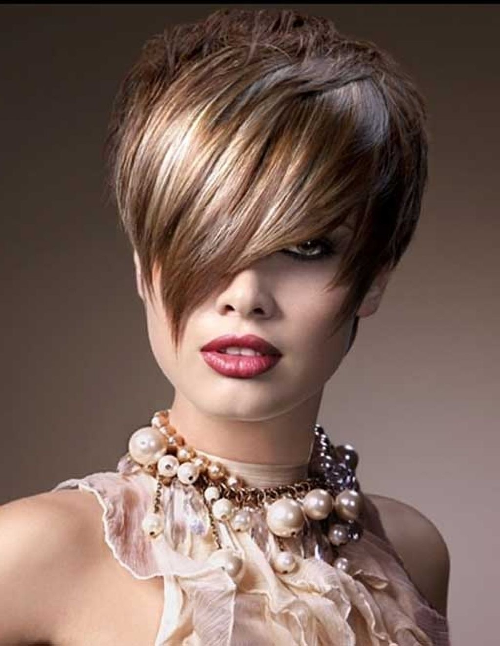 Short Pixie Haircuts With Long Bangs For Women 2016 Hair Color With Current Pixie Hairstyles With Long Bangs (View 7 of 15)