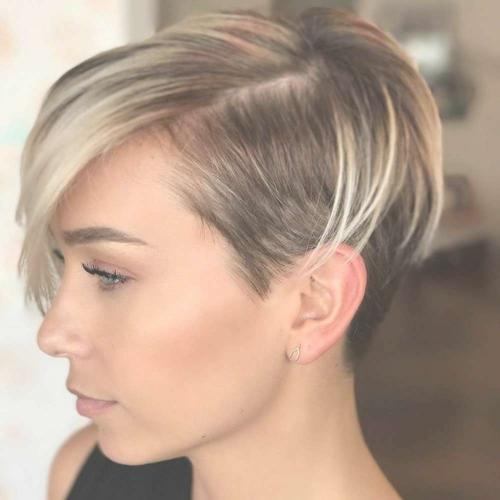 Short Pixie Hairstyles For Ladies 2018 2019 Regarding Best And Newest Pixie Hairstyles (View 7 of 16)