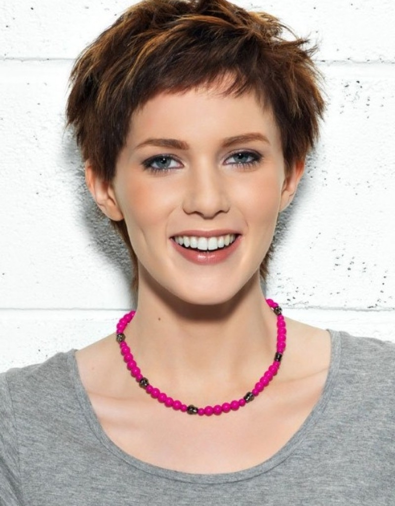 Short Pixie Hairstyles For Thin Hair – Hollywood Official Regarding Recent Pixie Hairstyles For Thin Hair (View 13 of 15)