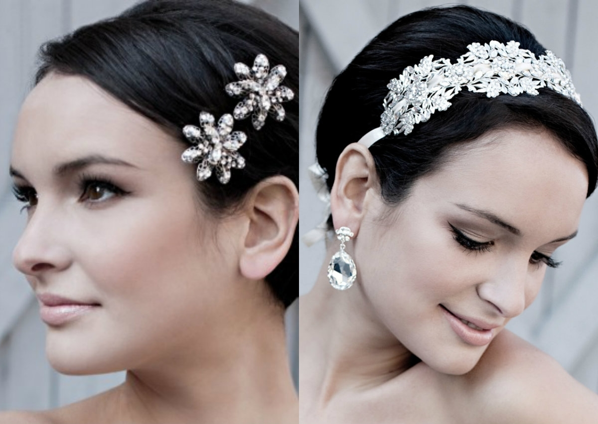 Short Pixie Wedding Hairstyles To Inspire All Brides   Hairstyles Intended For Current Pixie Hairstyles Accessories (View 9 of 15)
