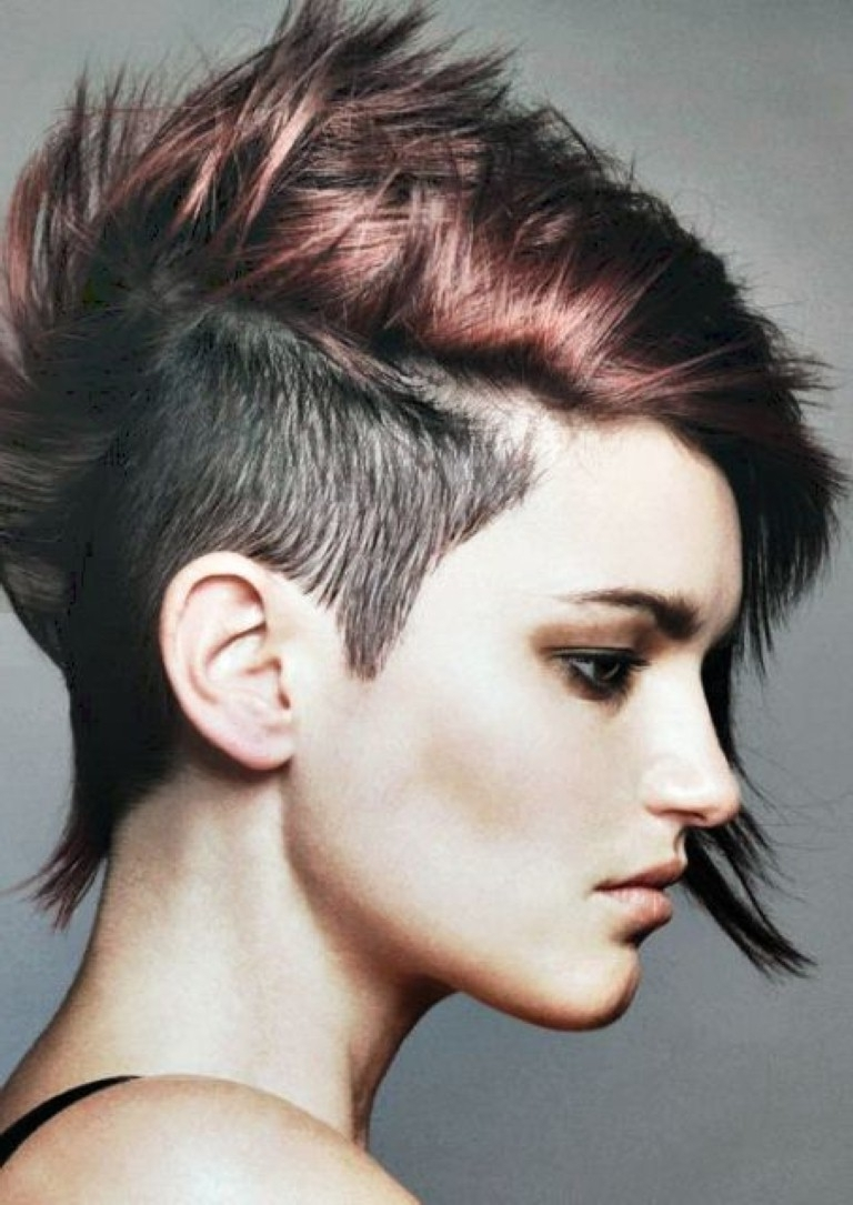 Showing Photos Of Punk Rock Pixie Hairstyles View 2 Of 15 Photos