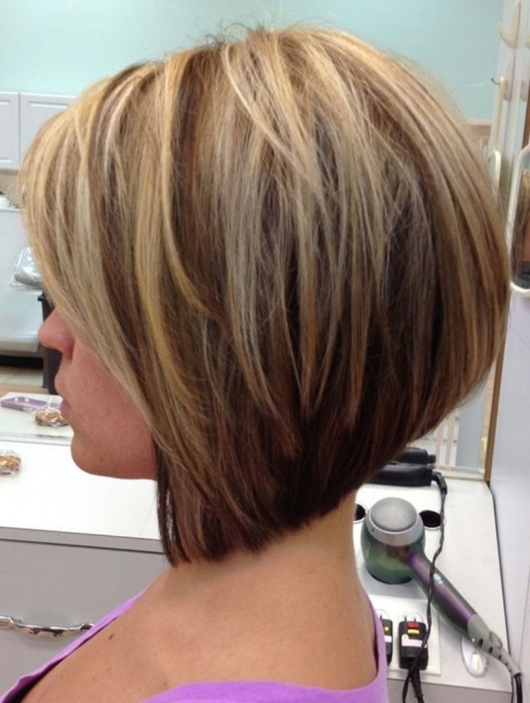 Short Stacked Bob Haircuts Stacked Bob Hairstyles Black Hair Within Recent Pixie Hairstyles With Stacked Back (View 10 of 15)