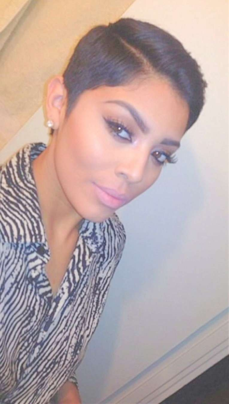 Featured Photo of Black Short Pixie Hairstyles