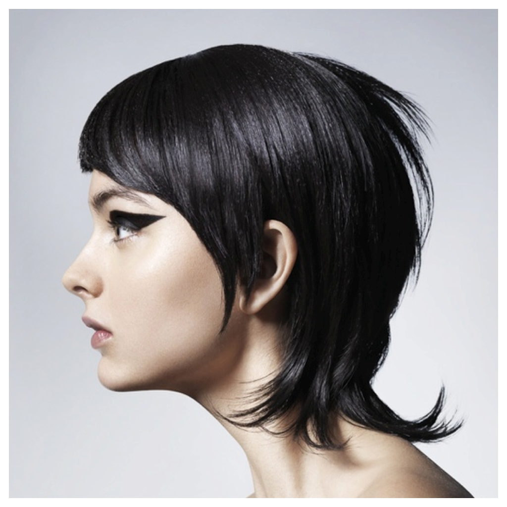 Spring Hair Cut Inspiration: Extra Long Pixie #spring #haircut Regarding Most Up To Date Blunt Pixie Hairstyles (View 7 of 16)