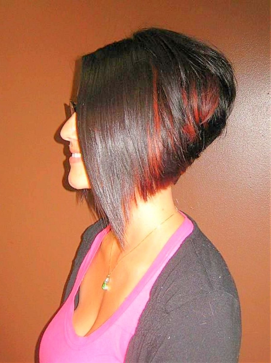 Stacked Hairstyles Can Be Found In Many Choices Such As Back View Throughout Recent Pixie Hairstyles With Stacked Back (View 7 of 15)