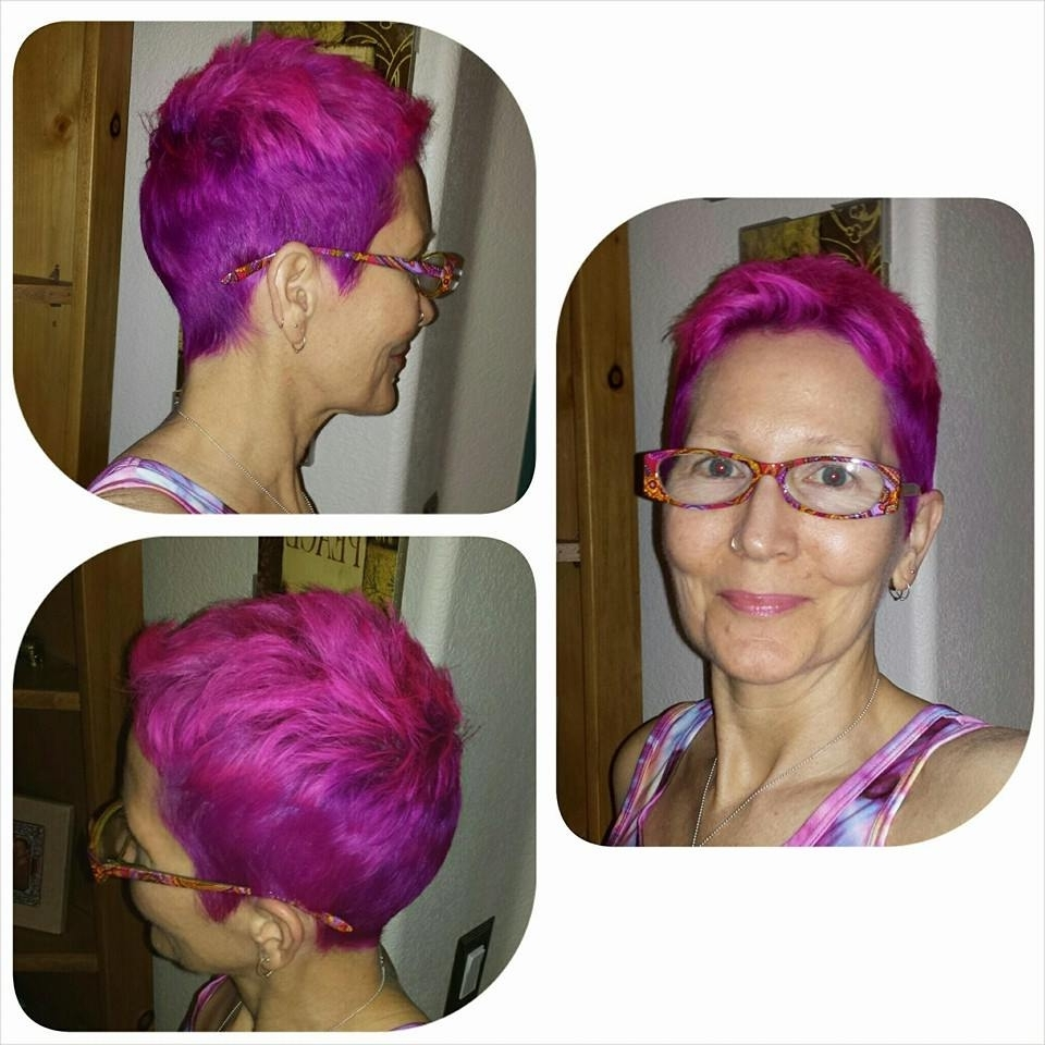 Strawberries & Cream Pixie Haircut – Hair Colors Ideas Inside Current Pink Short Pixie Hairstyles (View 15 of 15)