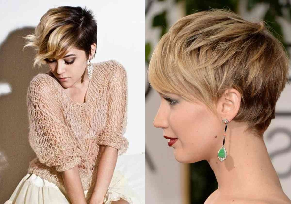 Stylish Modern Hairstyles With Brown | Simple Stylish Haircut Throughout Latest Pixie Hairstyles With Highlights (View 7 of 15)