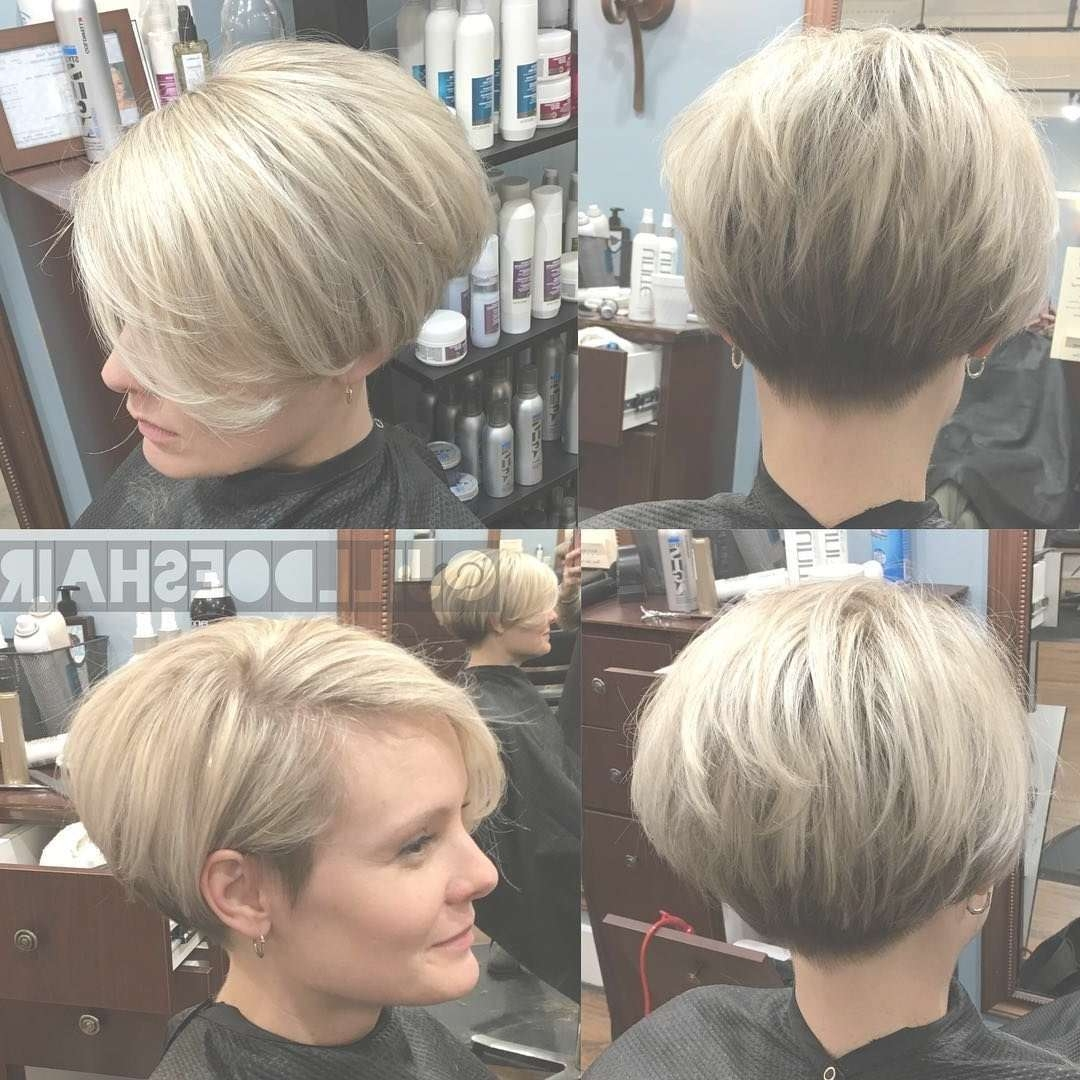 Stylish Pixie Bob …   Pinteres… Intended For Recent Bob And Pixie Hairstyles (View 6 of 16)