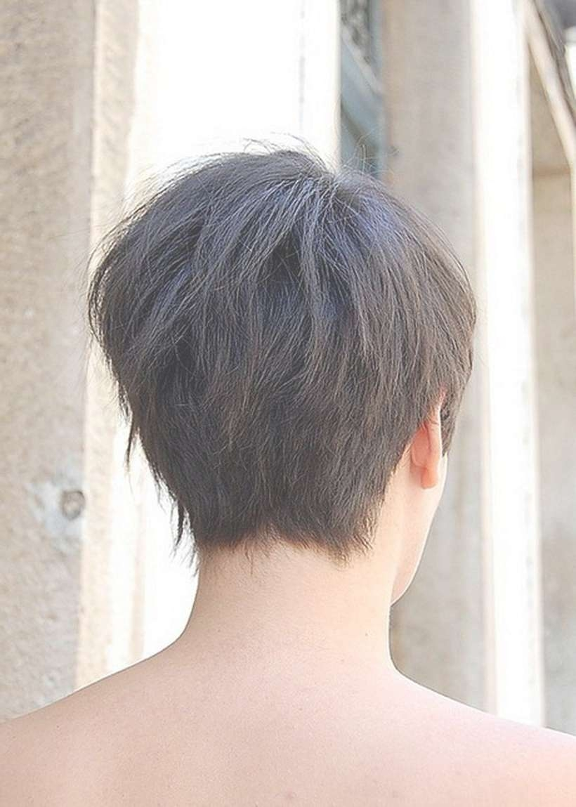 Stylist Back View Short Pixie Haircut Hairstyle Ideas 20 – Fashion For Most Recently Back Views Of Pixie Hairstyles (View 13 of 15)