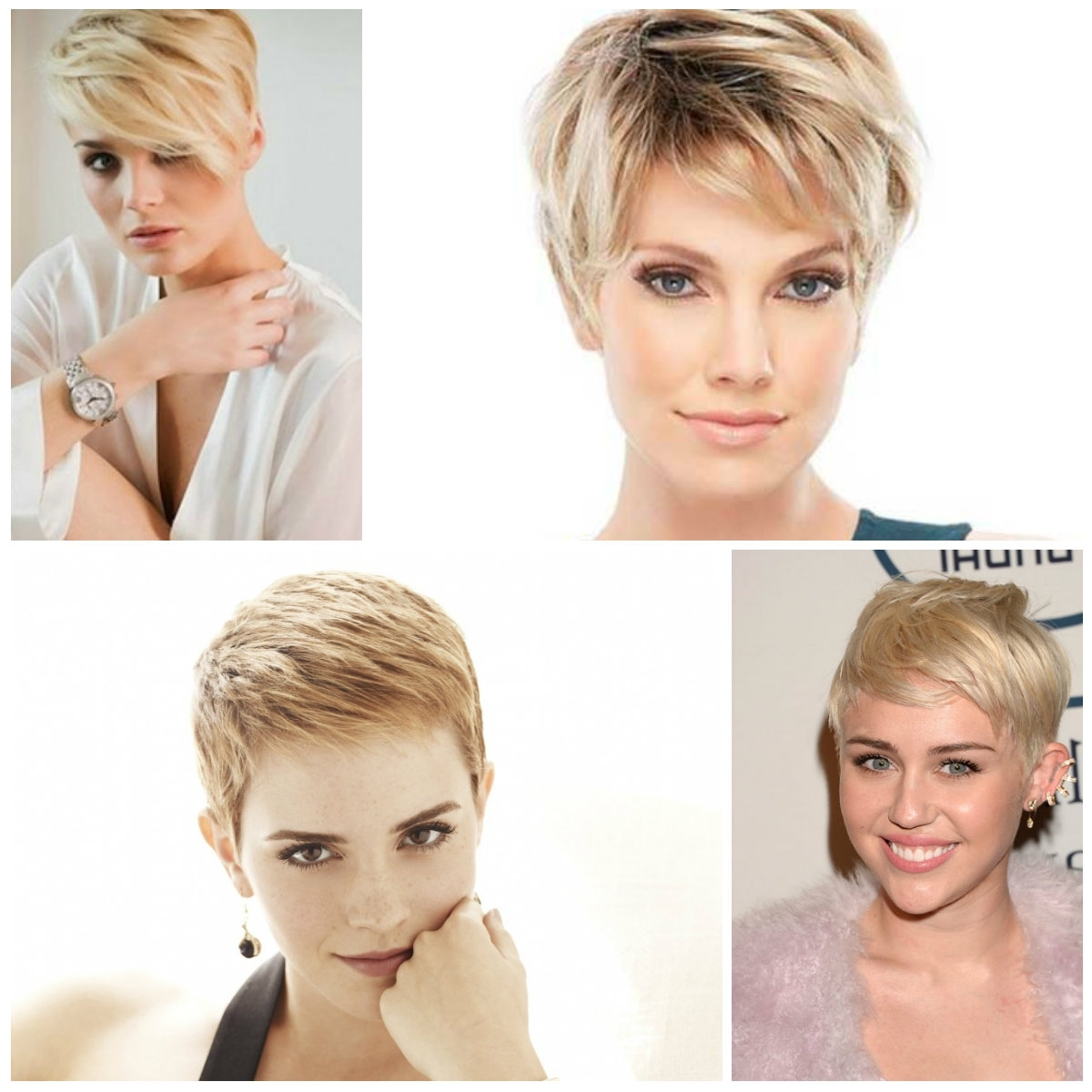 Subtle Blonde Pixie Hairstyles – Haircuts And Hairstyles For 2017 Throughout 2018 Pixie Hairstyles With Highlights (View 10 of 15)
