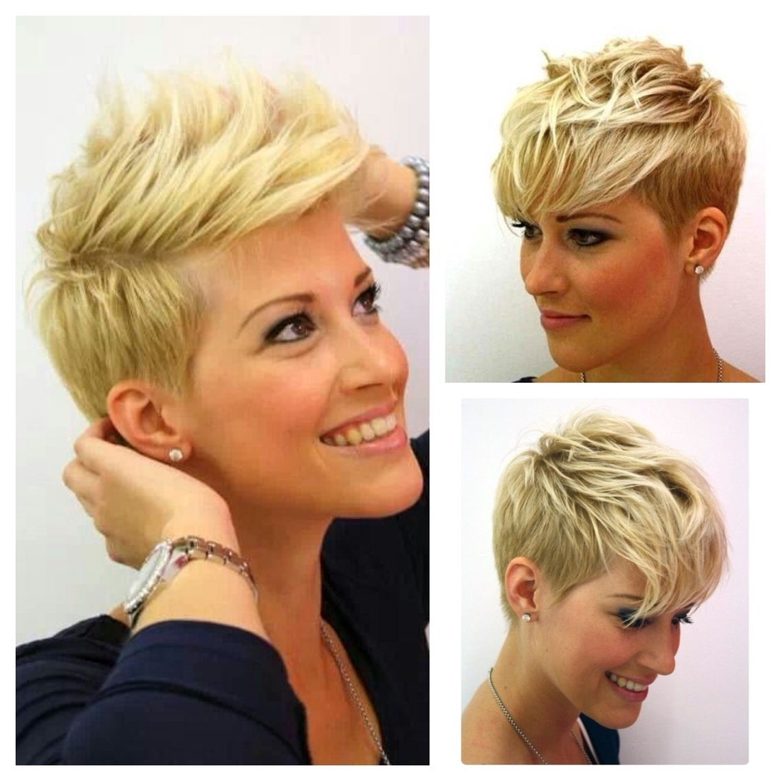 Super Cute Short Layered Pixie Cut For Fine Hair | Fun Things For Within Most Current Posh Pixie Hairstyles (View 10 of 15)