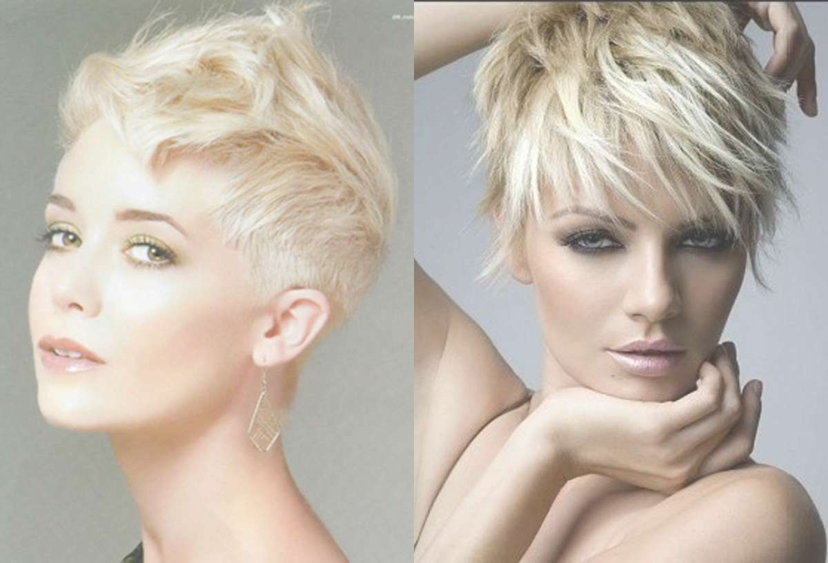 Super Extravagant Pixie Haircuts For Short Hair Lovers For Most Up To Date Blonde Pixie Hairstyles (View 10 of 15)
