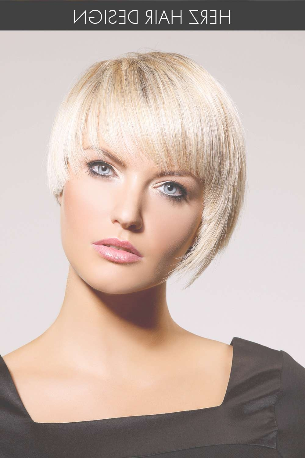 Super Short Asymmetrical Bombshell Bob | Bangin' Bobs | Pinterest With Current Blunt Pixie Hairstyles (View 2 of 16)