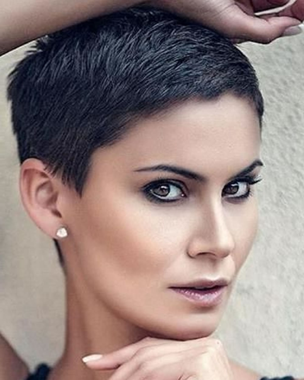 Super Very Short Pixie Haircuts & Hair Colors For 2018 2019 Within Latest Extremely Short Pixie Hairstyles (View 13 of 15)