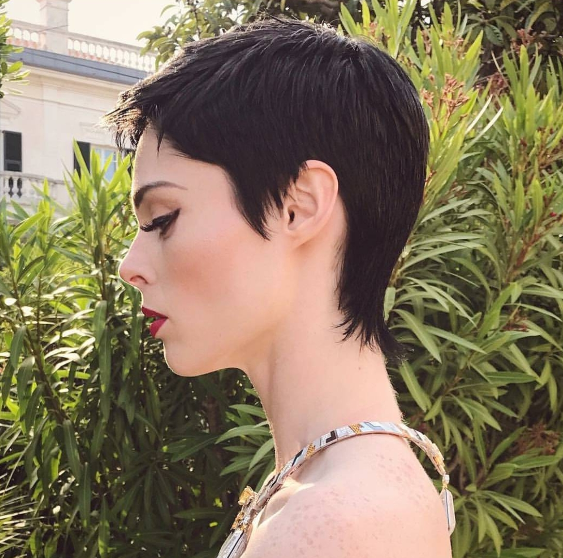Showing Photos Of Pixie Hairstyles With Shaved Sides View 14 Of 15