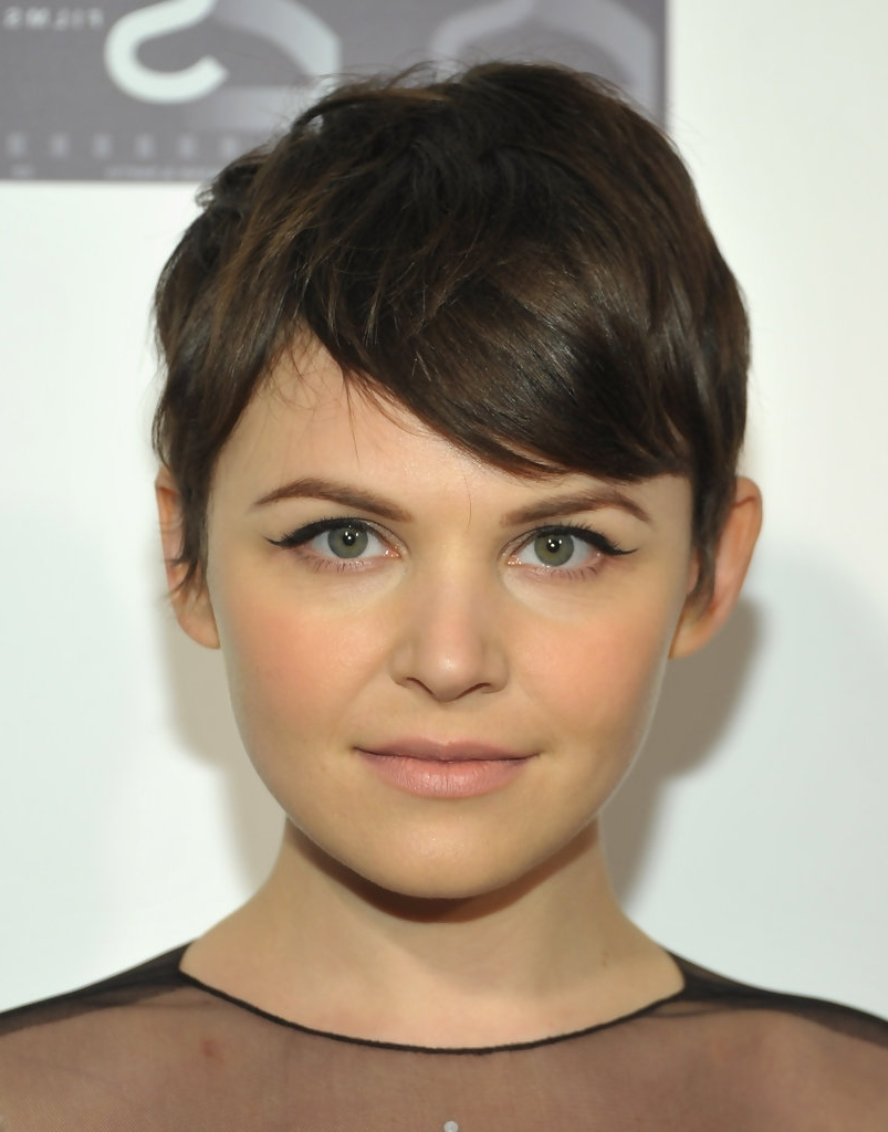 Featured Photo of Pixie Hairstyles For Round Face Shape