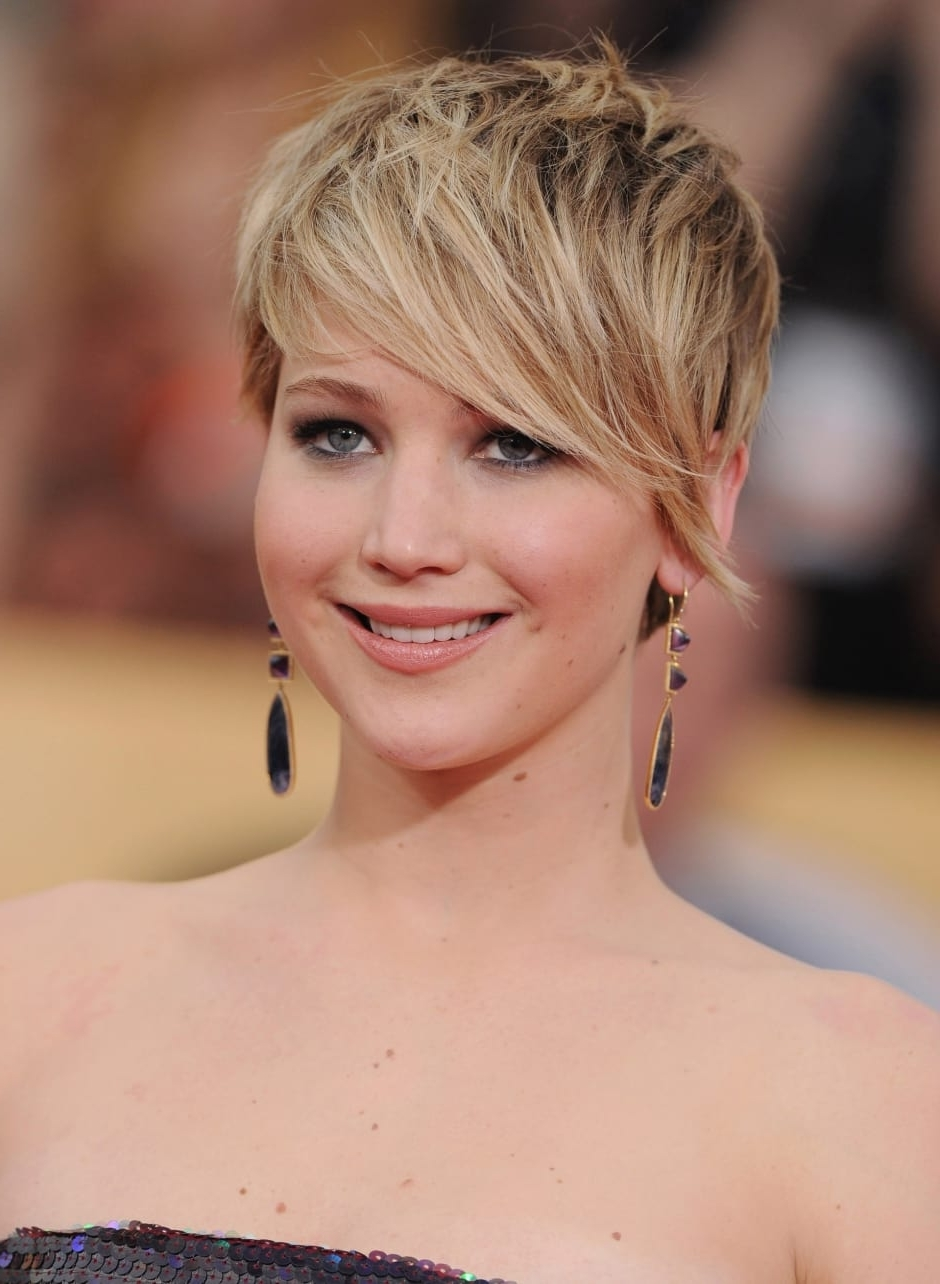 The Right Pixie Cut For Your Face Shape For Latest Pixie Hairstyles For Oblong Face (View 2 of 15)