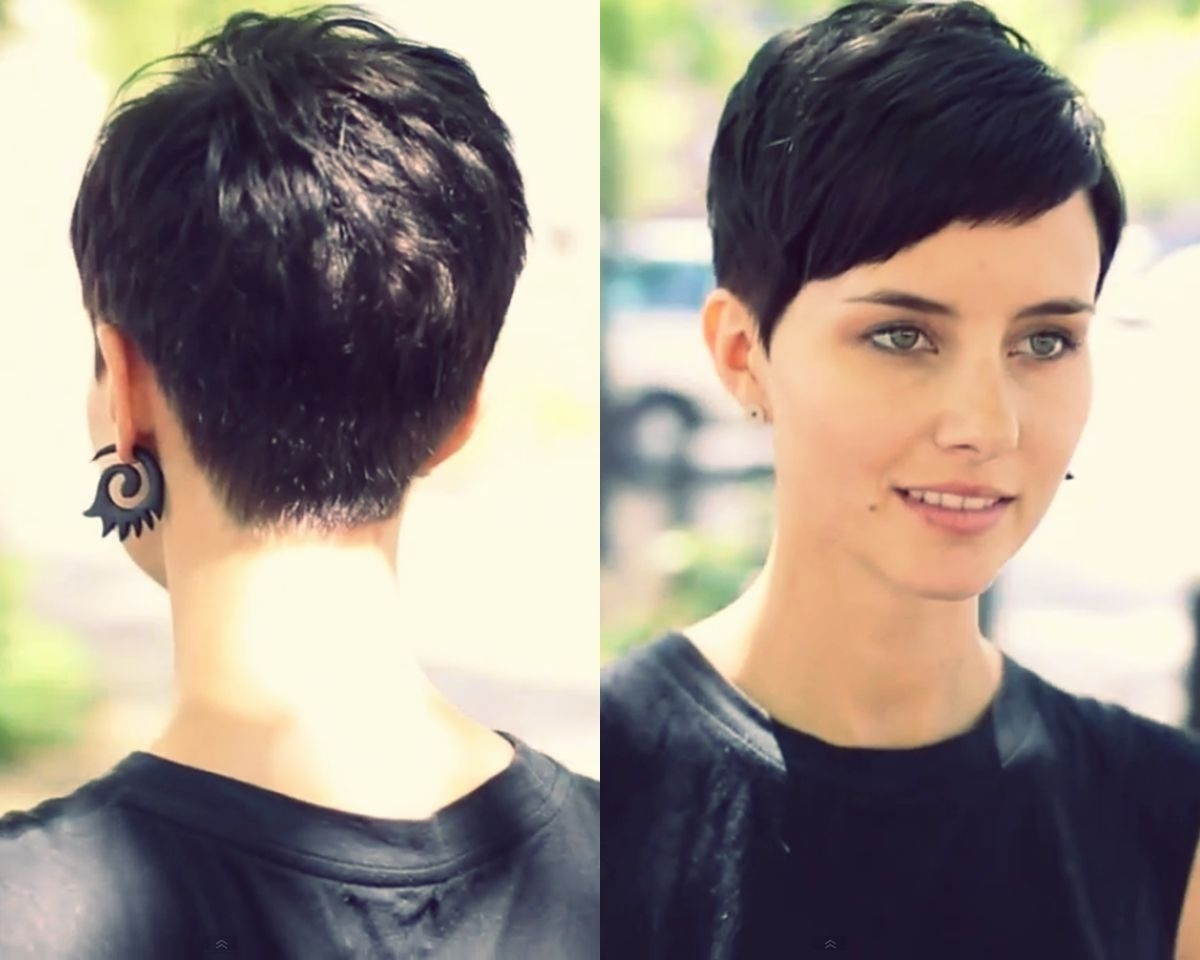View Photos Of Short Bangs Pixie Hairstyles Showing 14 Of 15 Photos
