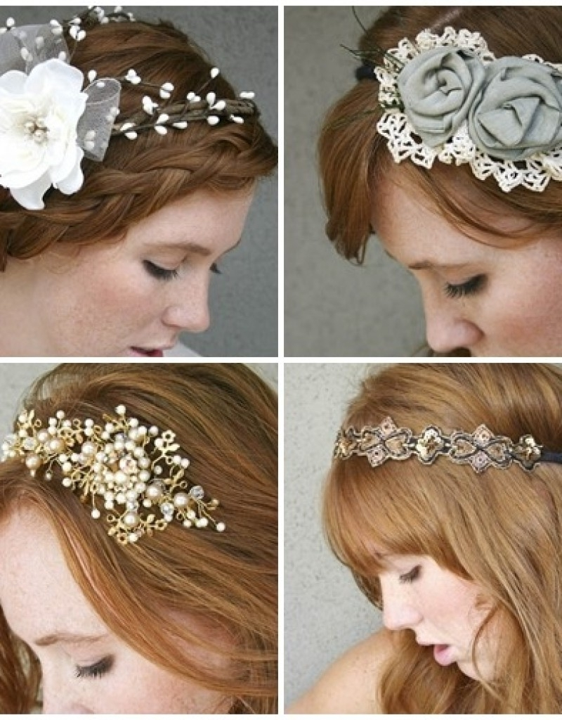 Top 25 Wedding Hairstyles Inspiring Hair Accessories – Hollywood Inside Most Up To Date Pixie Hairstyles Accessories (View 13 of 15)