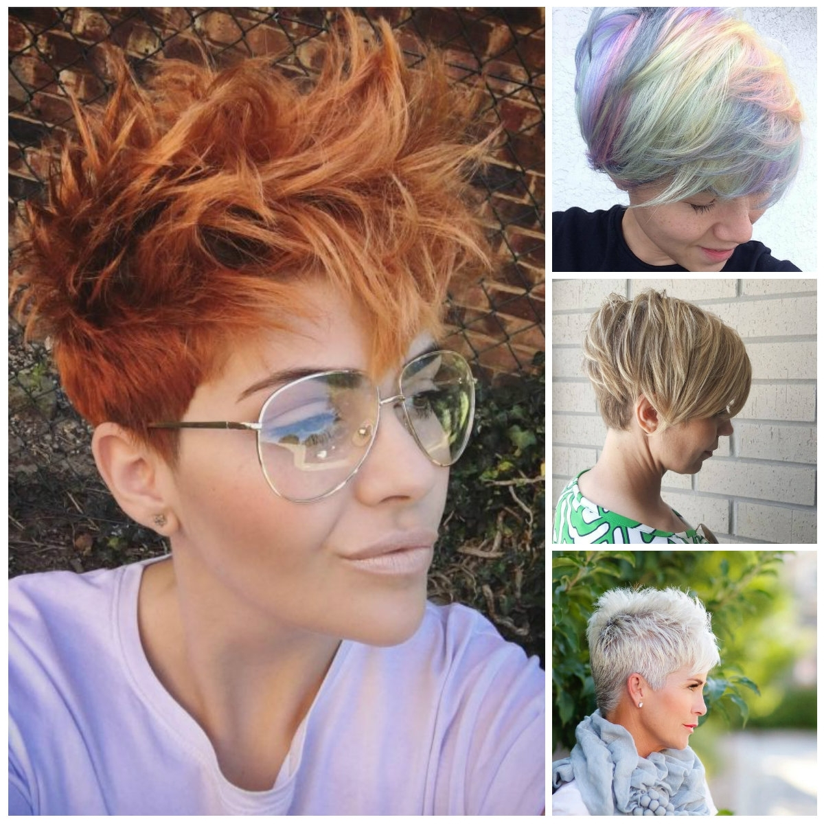 Trendy Pixie Haircuts For 2017 | 2017 Haircuts, Hairstyles And Pertaining To Most Up To Date Pixie Hairstyles Colors (View 3 of 15)