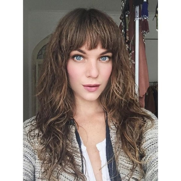 Trendy Shaggy Hairstyles And Haircuts For Long Hair In 2017 Inside Best And Newest Long Shaggy Hairstyles With Bangs (View 13 of 15)